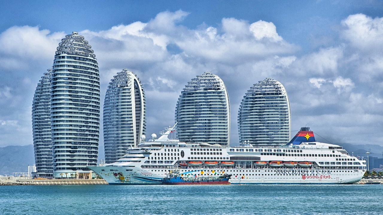 Hainan China Skyline Ocean